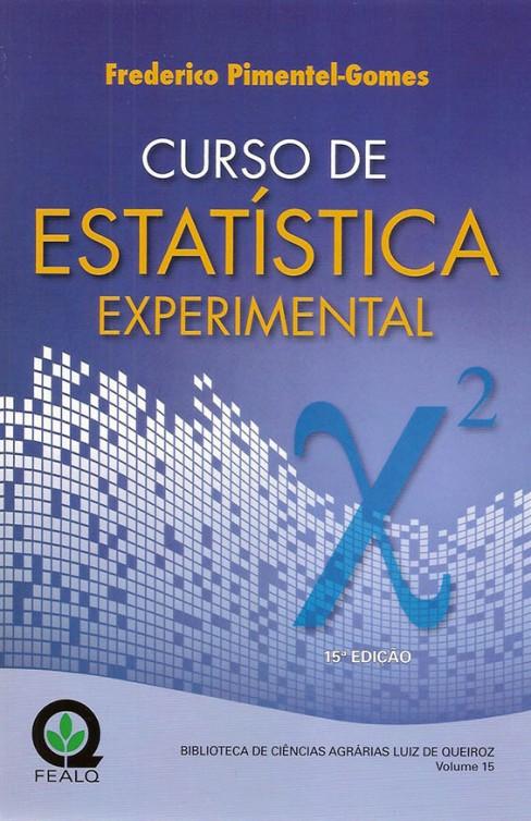 CURSO DE ESTATISTICA EXPERIMENTAL