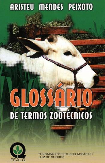GLOSSARIO DE TERMOS ZOOTECNICOS