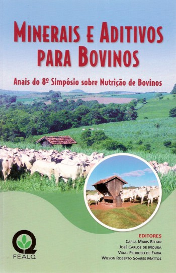 MINERAIS E ADITIVOS PARA BOVINOS - 8º SIMPOSIO