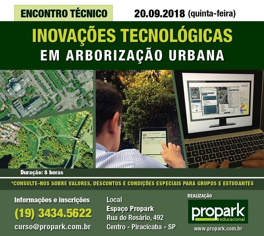Encontro Técnico de Inovações Tecnológicas em Arborização Urbana